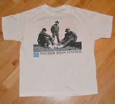 RaRe *1988 RUN DMC* vintage rap hip hop concert promo t-shirt (L) 1980's Def Jam
