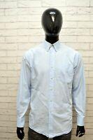 TOMMY HILFIGER Uomo Camicia Camicetta Taglia XL Maglia Shirt Man Hemd Celeste