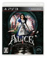 USED PS3 PlayStation 3 Alice: Madness Returns 20604 JAPAN IMPORT