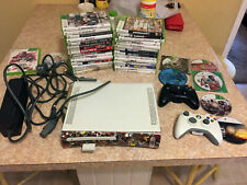 New listing Xbox 360 bundle with games, memory card, 37 games and two controllers