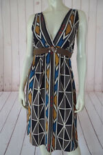 A Common Thread Anthropologie Dress Petite Silk Pullover Multicolor Abstract