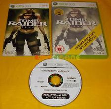 TOMB RAIDER UNDERWORLD XBOX 360 Versione PAL Promotional ○○○○○ USATO