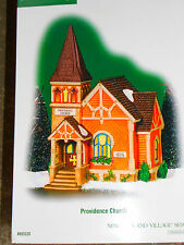 Dept 56 New England Village Providence Church Nib *Still Sealed*