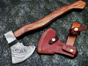 """New Beautiful Handmade Damascus Steel AXE """"UNIQUE AXE"""" Limited Edition WD-6427"""