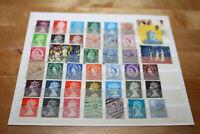 Grossbritannien - 41 Briefmarken gestempelt