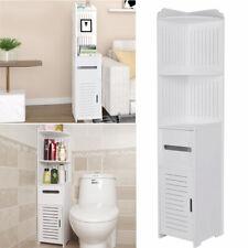 Bathroom Corner Storage Display Cabinet Unit Bedroom Cupboard Furniture Shelves