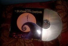 NIGHTMARE BEFORE CHRISTMAS, THE Laserdisc LD WIDESCREEN FORMAT VERY GOOD RARE!