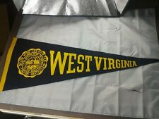 1950s College Football Pennant West Virginia