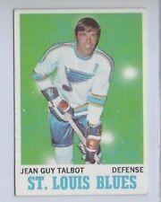 1970 TOPPS # 100 JEAN GUY TALBOT NICE CARD