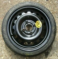 """GENUINE NISSAN NOTE MICRA 14"""" SPACE SAVER SPARE WHEEL & T105/70 R14 TYRE. #77."""