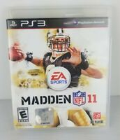 Madden NFL 11 Playstation 3 PS3 Game Complete