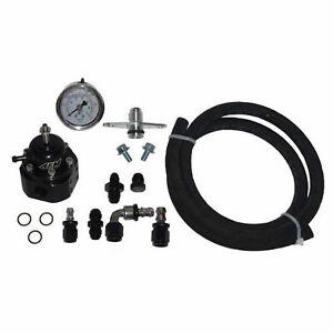 MAP AFPR Fuel Pressure Kit AEM Regulator Push Lock Hose for 1G DSM Eclipse Talon