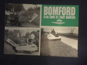 Bomford Rotary Mowers  Brochure