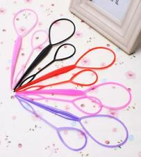 4 x Pcs Topsy Tail Hair Braid Ponytail Styling Maker Tool 6colors Free Shipping