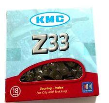 KMC Z33 5/6-Speed 3x6 18-Speed Bike Chain 116L fits Shimano SRAM Campagnolo FSA