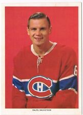 1963-65 Chex Photo Hockey Card Ralph Backstrom Variation