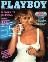 Playboy Magazine November 1977 - Billy Carter, Henry Kyemba, Rita Lee