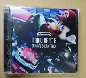 CLUB NINTENDO Soundtrack MARIO KART 8 2 CD Original