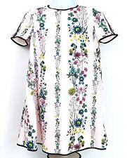 Ted Baker Womens US Size 4 Soffiah Dress Black Hem Short Sleeve Pink NWT $229