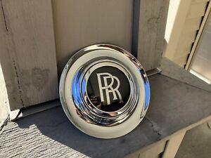 Rolls Royce Ghost Wraith Dawn Replacement Wheel Center Cap Chrome Bezel