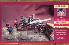 BUM Models 1/72 ROYAL ARTILLERY The War of the Spanish Succession Figure Set