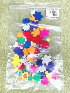 Foam Flowers Glue On 1990s to early 2000s