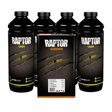 U Pol Up0820 4l Raptor Black Bed Liner 2k Urethane Kit Up0820