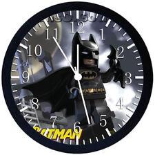 Lego Batman Black Frame Wall Clock Nice For Decor or Gifts W377