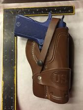 FITS: Colt 45 Model 1911 Leather Holster Wild Bunch Style Field Holster