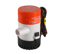 SEAFLO 12V 750 GPH Submersible Bilge Pump for Boat RV Marine