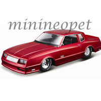 MAISTO 32530 CLASSIC MUSCLE 1986 CHEVROLET MONTE CARLO SS 1/24 DIECAST RED
