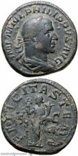 Cleaned Sestertius Roman Imperial Coins (235 AD-476 AD)