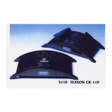 Texson 5110 CR-110 Alarm Clock AM FM Radio LCD Display Folding Speaker Black New