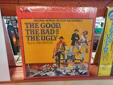 Ennio Morricone The Good The Bad & Ugly LP United Artists VG+ IN Shrink ORIGINAL