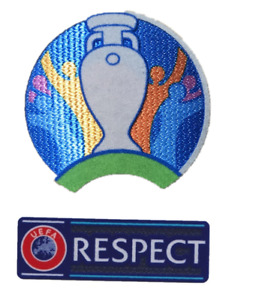 SET 2021 Euro Cup England France Wales Football Soccer Jersey Shirt Patch Badge
