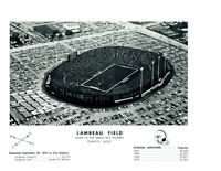 1970 LAMBEAU FIELD STADIUM GREEN BAY PACKERS WISCONSON  8X10 PHOTO