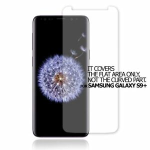 5X QUALITY CLEAR SCREEN PROTECTOR FLAT COVER GUARD  FOR SAMSUNG GALAXY S9+