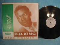 B.B. King & His Orchestra, The Great B.B. King, Crown Records CLP 5143 BLUES1960
