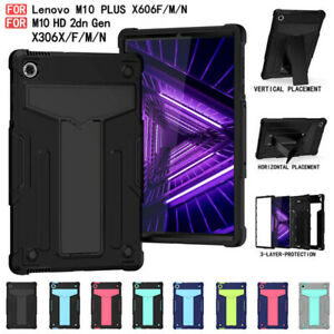 For Lenovo Tab M10 Plus TB-X606/X306F 10.1 10.3 Hard Stand Shockproof Case Cover