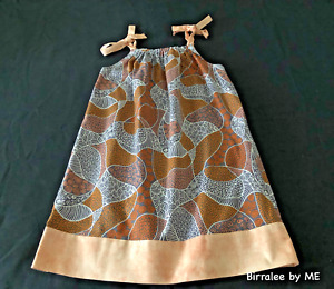 Beautiful Slip Dress Handmade by Birralee by ME using Aboriginal fabric. Size 4