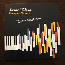 "Beach Boys Brian Wilson Signed ""Reimagines Gershwin"" Lp (Perry Cox Coa)"