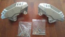 "93-02 Toyota Supra MK4 OEM 4 Pot / Piston Front Brake Calipers Big Brakes 13"""