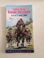 Invitation Derib Salon De La Bd Maisons-Laffitte 2002