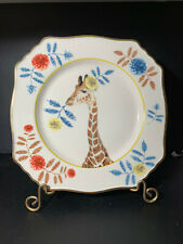Anthropologie Lou Rota Nature Table Giraffe Dessert Snack Salad Plate New other