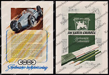 orig Reklame Auto Union Rennwagen Typ D Stromlinie Motorsport Audi Chemnitz 1940