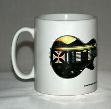 Guitar Mug. James Hetfield's Gibson Les Paul Iron Cross illustration.
