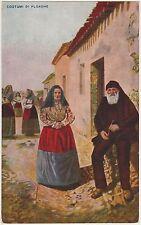 COSTUMI DI PLOAGHE - SARDI (SASSARI) 1932
