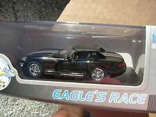 EAGLE RACE 1/43 DODGE VIPER RT/10 CABRIOLET Bachée 1996 NOIRE/GRISE !!!