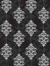 Damask-6'W by 8'H-Wall Mural