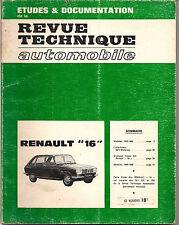 REVUE TECHNIQUE RENAULT 16